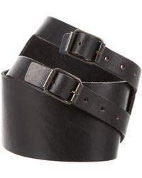 Elizabeth and James - Leather Waist Belt - Lyst