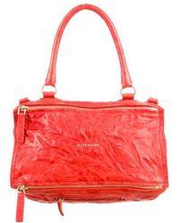 Lyst - Givenchy Large Pandora Bag Brown in Metallic db9c111b23ad2