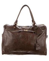 Marc Jacobs - Leather Weekender Bag Brown - Lyst