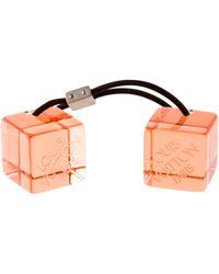 Louis Vuitton - Logo Hair Cubes Clear - Lyst