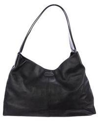 Tod's - Leather Shoulder Bag Black - Lyst