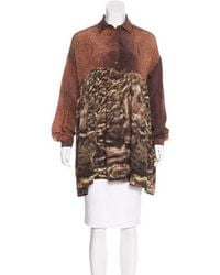 Opening Ceremony - Printed Long Sleeve Tunic - Lyst