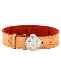 Louis Vuitton - Monogram Vernis Wish Bracelet Silver - Lyst