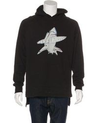 Baja East - Shark Graphic Pullover Hoodie - Lyst