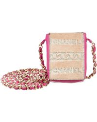 Chanel - Cell Phone Crossbody Pink - Lyst