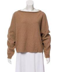 Vanessa Bruno - Angora Knit Sweater - Lyst