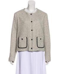 Rag & Bone - Button-up Textured Jacket - Lyst