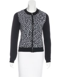 Dior - Wool Patterned Sweater - Lyst