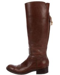Loro Piana - Leather Knee-high Boots - Lyst