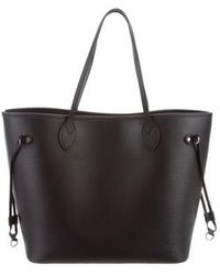 Louis Vuitton - Epi Neverfull Mm Black - Lyst