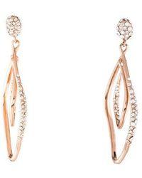 Alexis Bittar - Miss Havisham Liquid Crystal Orbiting Link Earrings Rose - Lyst