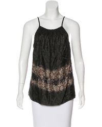 Elizabeth and James - Sleeveless Printed Top - Lyst