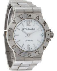 BVLGARI - Diagono Watch White - Lyst