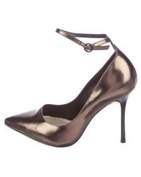 Alice + Olivia - Ankle-strap Pumps - Lyst