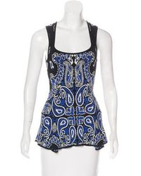 Torn By Ronny Kobo - Sleeveless Knit Top - Lyst