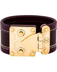 Louis Vuitton - Suhali Bracelet Gold - Lyst