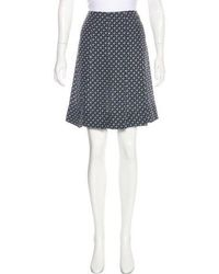 Marc Jacobs - Silk Printed Skirt - Lyst