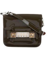 Proenza Schouler - Tiny Ps11 Crossbody Bag Olive - Lyst