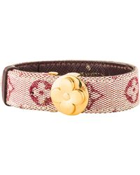 Louis Vuitton - Monogram Mini Lin Wish Bracelet Gold - Lyst