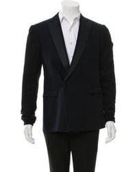 CoSTUME NATIONAL - Wool Single-button Blazer - Lyst