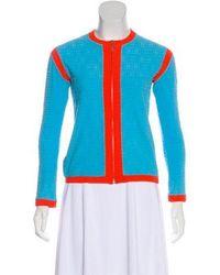 Chanel - Terry Cloth Logo Jacket - Lyst