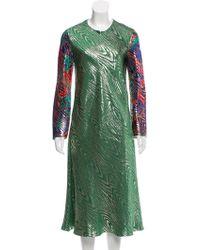 Maison Rabih Kayrouz - Brocade Midi Dress - Lyst