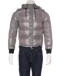 0f9913aa2805 Lyst - Dsquared² Black   Silver Leather Kiodo Biker Jacket in Black ...