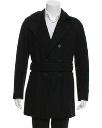 Dior Homme - Double-breasted Wool Peacoat - Lyst