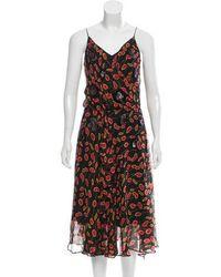 Diane von Furstenberg - Benita Silk Dress W/ Tags - Lyst