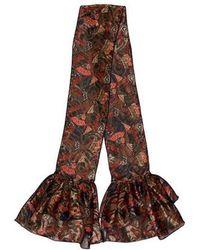 Anna Sui - Printed Scarf - Lyst