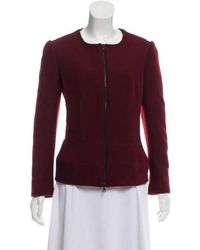 Narciso Rodriguez - Zipper-accented Jacket - Lyst