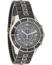 Dior - Christal Watch Black - Lyst