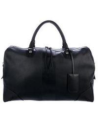 Rag & Bone - Flight Leather Weekender Black - Lyst