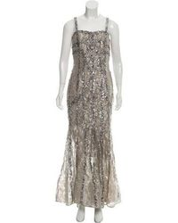 Elie Saab - Sequined Lace Gown - Lyst