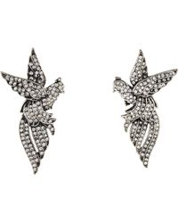 Lulu Frost - Aviary Earclip Earrings Silver - Lyst