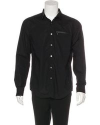Opening Ceremony - Woven Button-up Shirt - Lyst