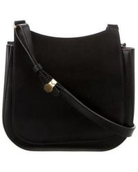 The Row - Leather Hunting 9 Black - Lyst