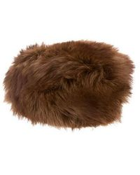 Loro Piana - Dyed Fur Hat Tan - Lyst