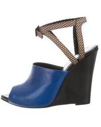 3.1 Phillip Lim - Pointed Wedge Sandals - Lyst