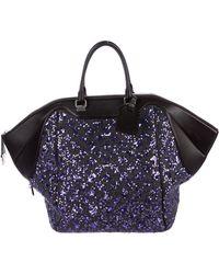 2e95473b472 Lyst - Louis Vuitton Sunshine Express North-south Bag Wool in Metallic