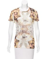 Prabal Gurung - Baroque Print Crew Neck T-shirt W/ Tags Multicolor - Lyst