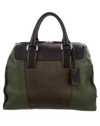 Narciso Rodriguez - Leather Handle Bag Green - Lyst