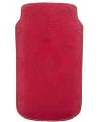 Louis Vuitton - Mahina Iphone 5 Softcase Burgundy - Lyst