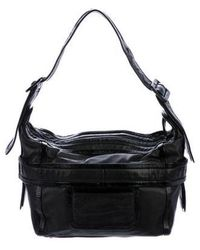 Pierre Hardy - Leather Bv01 Messenger Black - Lyst