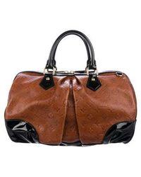 Louis Vuitton - Stephen Leather Boston Bag Brass - Lyst