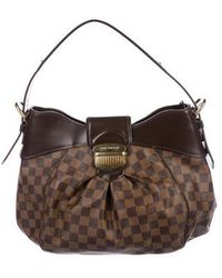 Louis Vuitton - Damier Ebene Sistina Pm Brown - Lyst