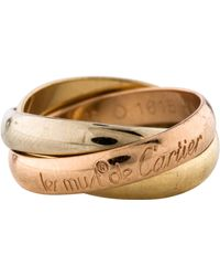 Cartier - Les Must De Ring Yellow - Lyst