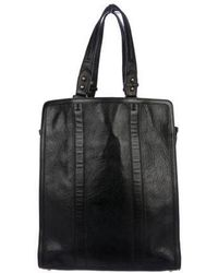 Steven Alan - Grained Leather Tote - Lyst