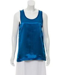 Helmut Lang - Satin Sleeveless Top W/ Tags - Lyst