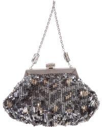 Judith Leiber - Sequin Embellished Evening Bag - Lyst